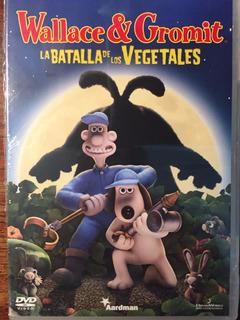 Dvd Wallace Y Gromit La Batalla De Los Vegetales