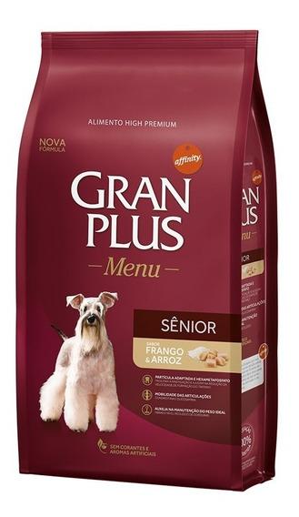 Ração Gran Plus Menu Cães Senior 15kg