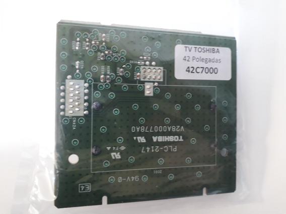 Placa Tv Toshiba 42c7000 / Plc2147 - V28a000778a0