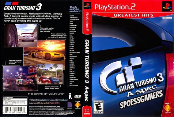 Gran Turismo ( Carros ) Ps2 Coleção (3 Dvds) Patch Português