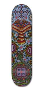 Deza - Quetzalcoatl- Tabla Skate Patineta (7.5) Con Lija