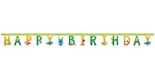 Imagen 1 de 3 de Banner De Cumpleaños De Bugs, 1 Unidad
