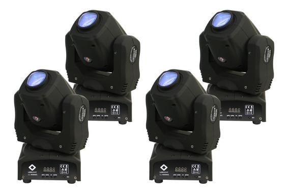 Kit 4 Unidades Moving Mini Led 60w Prisma Spot Nf Garantia