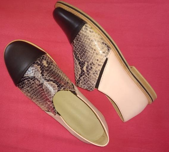 Zapatos De Cuero Ona