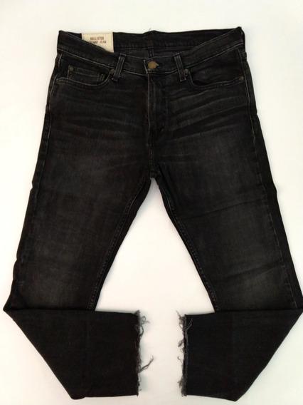 Calça Jeans Hollister Feminina 42 Skinny Importada Original