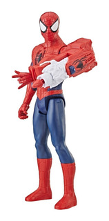 Muñeco Articulado Spiderman Marvel Titan Hero Fx E3552 Full