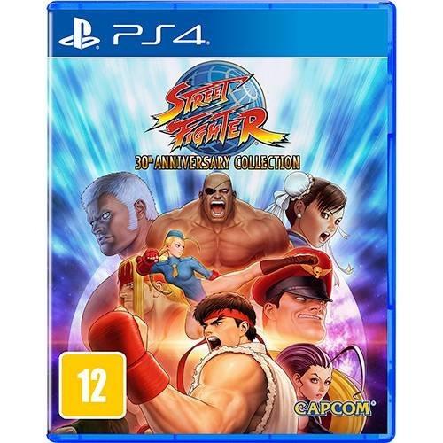 Street Fighter 30th Anniversary Ps4 Midia Fisica 12 Jogos