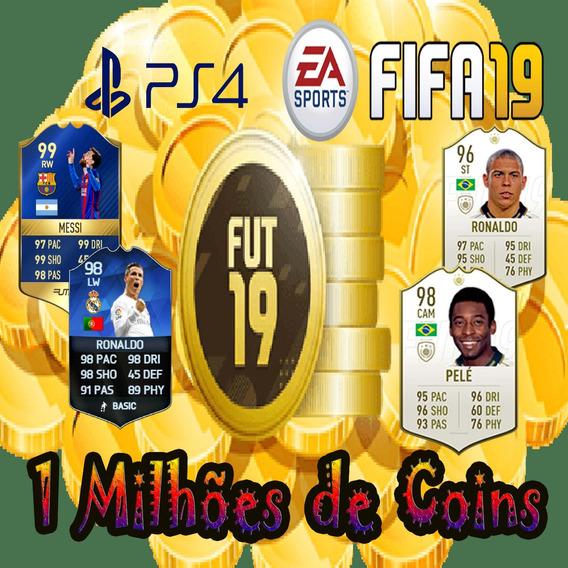 1 Milhão De Coins Fifa 19 Ps4