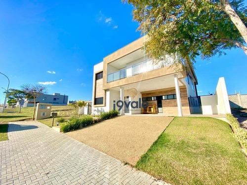 Casa Em Condomínio De Luxo Com 5 Suítes, Avalia Permuta , 424 M² Condomínio Alphaville I - Sjcampos/sp - Ca1624