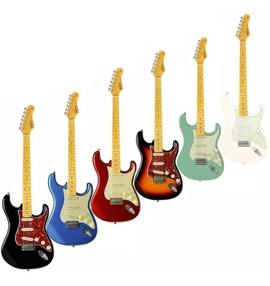 Guitarra Tagima Tg 530 Woodstock + Cabo + Palheta