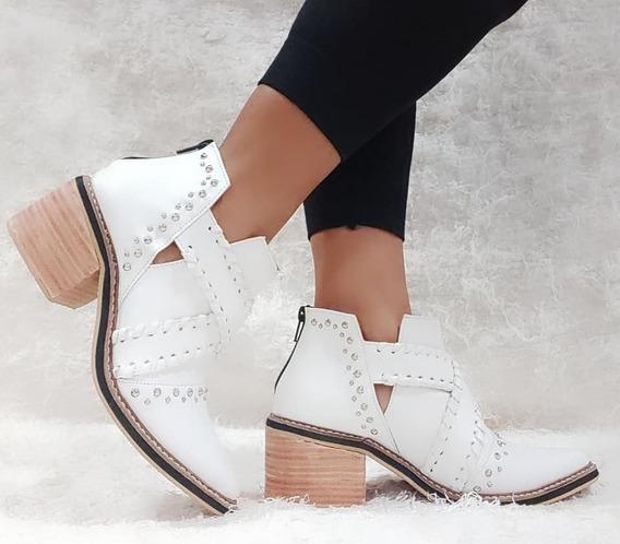 Zapatos Mujer Botas Urbanas Texanas Charritos Dama Comodas Livianas 65