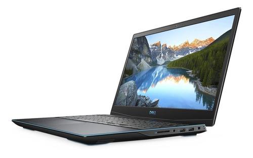 "Imagen 1 de 6 de Notebook gamer Dell G3 3500 negra 15.55"", Intel Core i5 10300H  8GB de RAM 512GB SSD, Nvidia GeForce GTX 1650Ti 120 Hz 1920x1080px Windows 10 Home"
