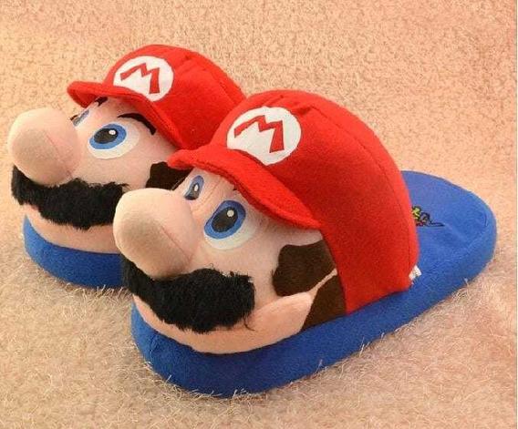 Pantuflas De Super Mario Bros Para Adultos