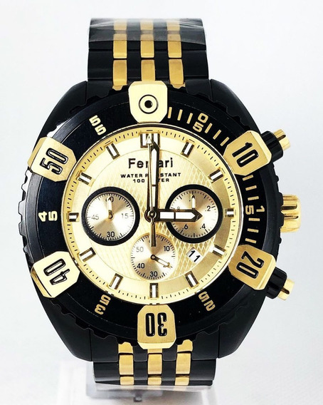 Relógio Ferrari Original Barato Cronógrafo Fer7305