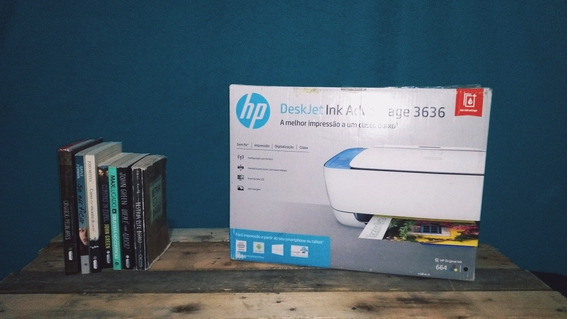 Impressora Hp Deskjet Ink Advanced 3636