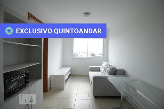 Apartamento No 8º Andar Mobiliado Com 1 Dormitório E 1 Garagem - Id: 892955196 - 255196