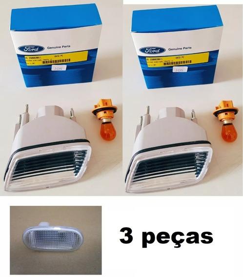 Kit 3 Lanterna Seta Dianteira Troller 09/14 Original C Lamp.