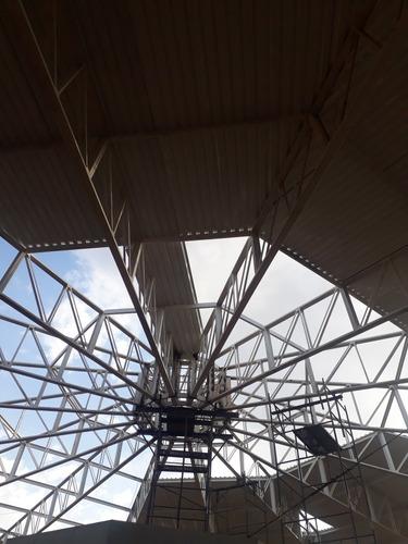 Imagem 1 de 5 de Estruturas Metálicas Montadores Com Experiência Em Alturas