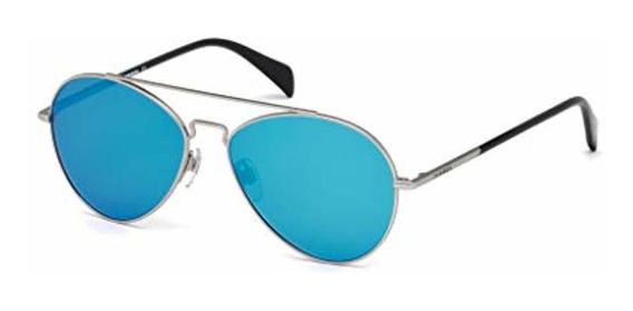Diesel Unisex-adult Dl0193 Aviator Sunglasses,