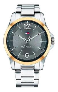 Reloj Tommy Hilfiger De Hombre Fondo Gris 1791504