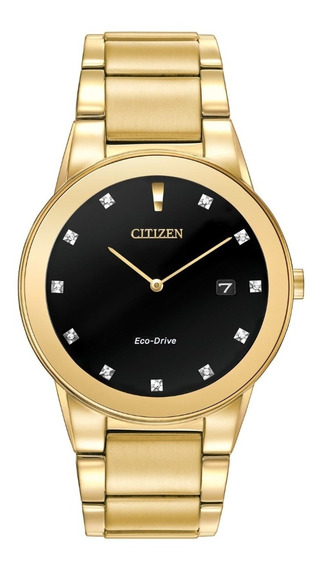 Citizen Eco-drive Axiom Acentos De Diamantes Au1062-56g