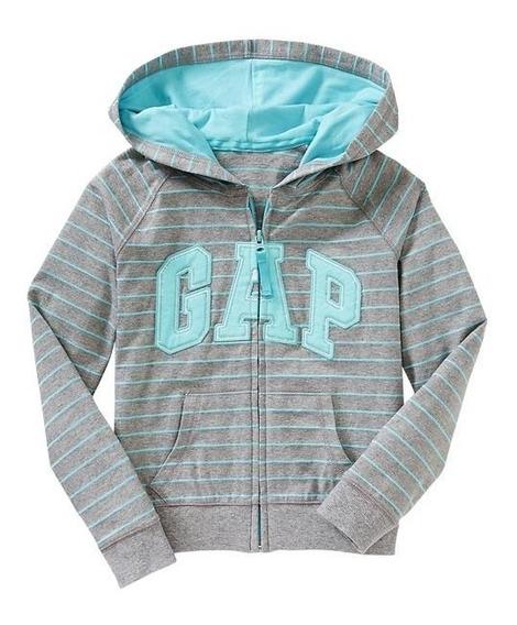 Casaco/jaqueta/suéter/moletom Gap Juvenil Listrado 6-7 Anos