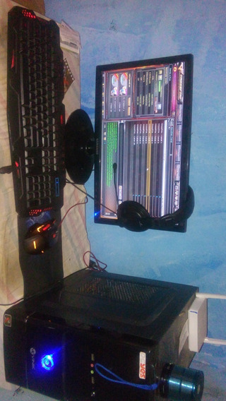 Pc 4gb Ram, Intel Core 2 Duo, Hd 320gb Com Placa De Video