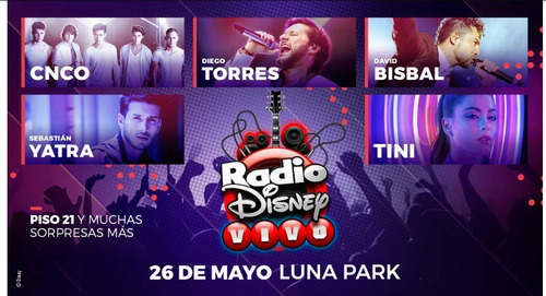 Radio Disney 26/5/18