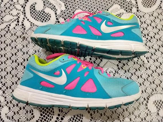 Zapatillas Nike Revolution 2 Mujer Talle 37