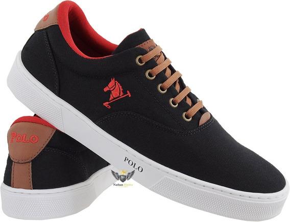 Sapatenis Sapato Tenis Polo Bra Casual Masculino