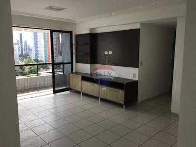 Apartamento Com 2 Quartos - Torre - Com Taxas Inclusas - Ap0498