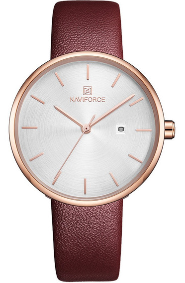 Relógio Feminino Naviforce 5002 Fashion Lançamento Original