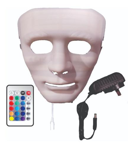 Máscara Led Facial 16 Colores Garantía De 1 Año. Digilan.