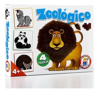 Puzzle Zoologico Don Rastrillo - Juego Ruibal