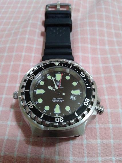 Relógio Tauchmeister 1000 Helium Free