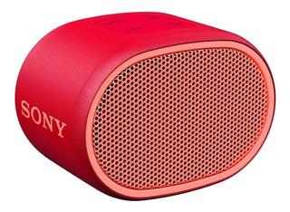 Bocina Sony Extra Bass SRS-XB01 portátil inalámbrico Rojo