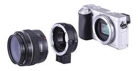 Adaptador Canon P/ Sony Alpha 6500 6000 A9 A7 F3 A6300 A7s