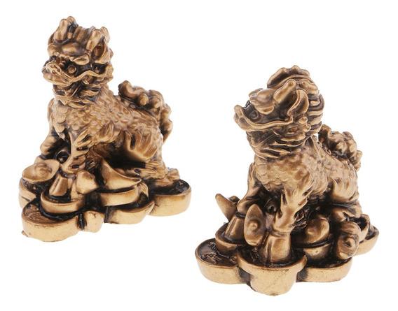 Chi Lin Estatua Feng Shui Decoración Del Hogar Atraer