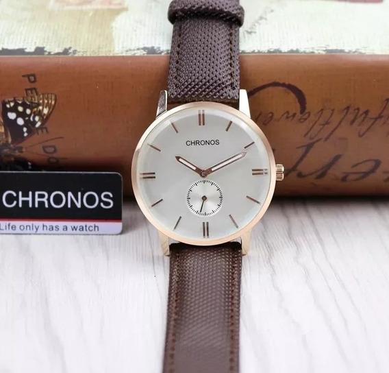 Relógio Masculino Clássico Retro