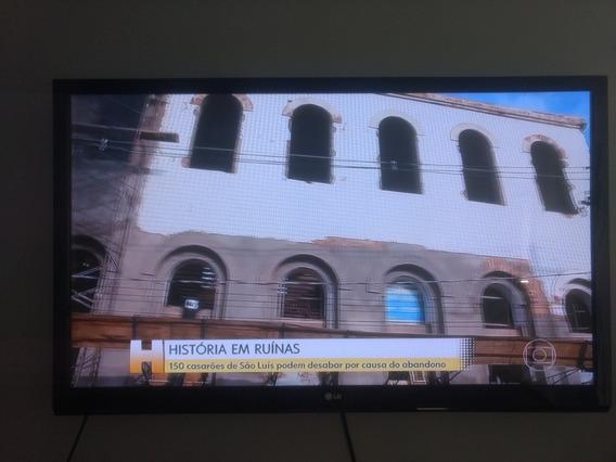 Tv Lg 42 Polegadas Lcd Em Perfeito Estado De Uso.