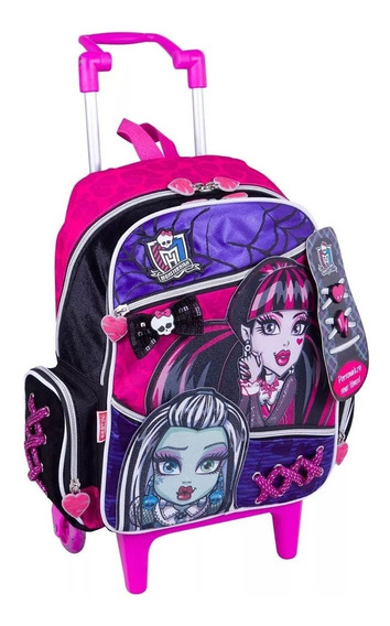 Mochilete Escolar Sestini Monster High 63592 - Shop Tendtudo