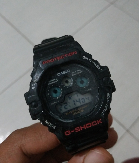 Relógio Casio G-shock Dw5900 Usado Funcionando
