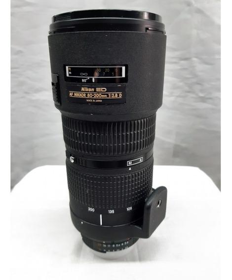 Lente Nikon Ed Ef Nikkor 80-200mm 1:2.8d