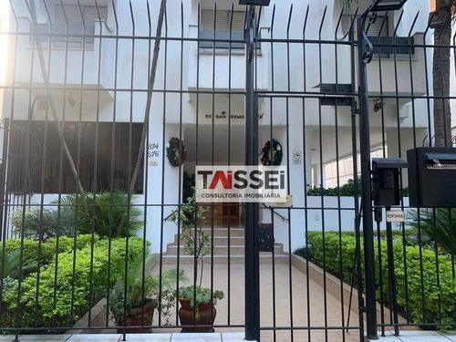 Apartamento Com 1 Dormitório, 40 M² - Venda Por R$ 345.000,00 Ou Aluguel Por R$ 1.500,00/mês - Vila Clementino - São Paulo/sp - Ap8260