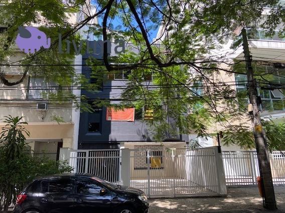 Sala Comercial Para Alugar Na Rua Dona Mariana, Botafogo, Rio De Janeiro - Rj - Liv-5250
