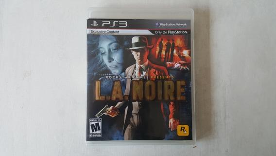 La Noire - Ps3 - Original