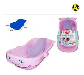 Bañera Para Bebes Modelo Ballenita Con Accesorios