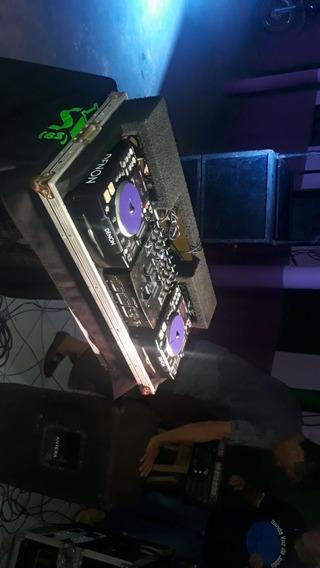 Kit Dns Denon 120 Cdj Mais Mixer E Case