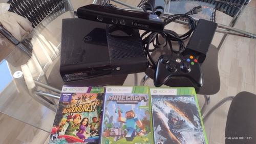 Imagem 1 de 1 de Xbox 360 Com Kinect 2015 Usado