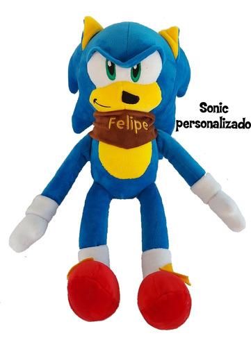 Sonic Peluche Personaje 40 Cm